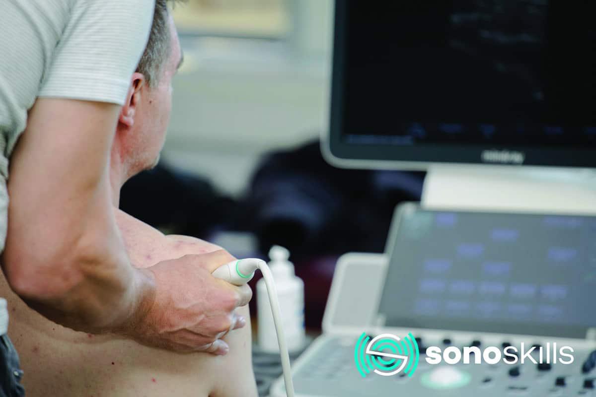 SonoSkills ultrazvuk rame