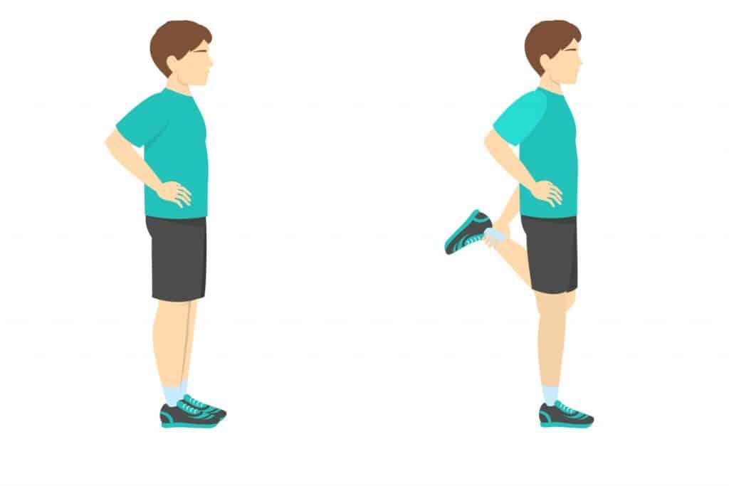 Vježbe istezanja koljena