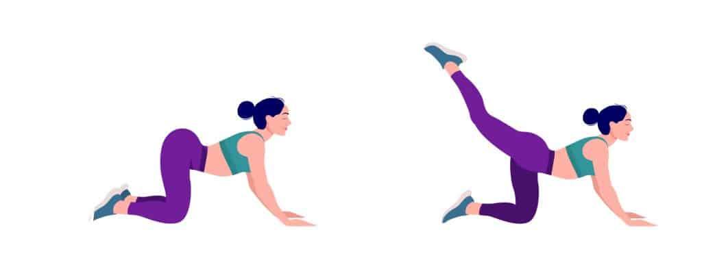 Vježbe za razgibavanje četveronožni retrofleksija