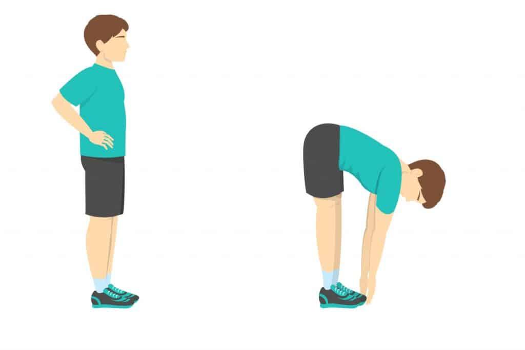 Istezanje hamstringsa i koljena
