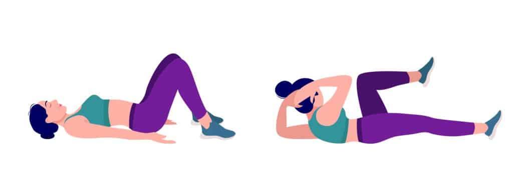 Vježbe za razgibavanje kosi trbušni