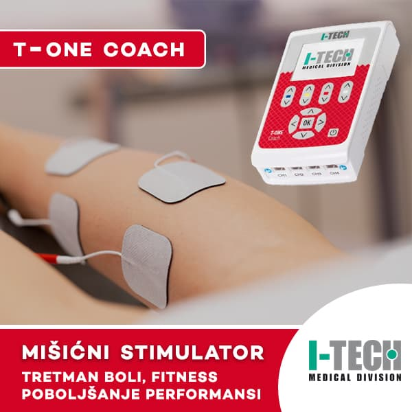 Mišićni stimulator T-ONE COACH